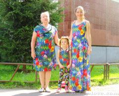 Наш фэмилилук с бабушкой)