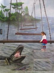 Амелька и крокодил