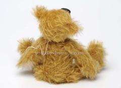 Нос из кожи - как сделать Кожаный нос для медведя Тедди, мастер - класс.