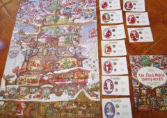 Календарь с наклейками