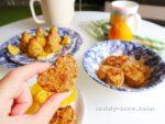 Очень простой рецепт апельсинового овсяного печенья с фото