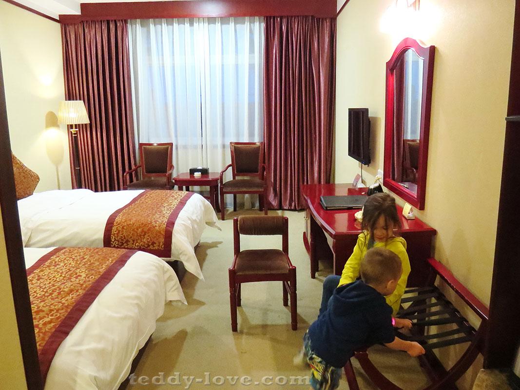 Мои малыши в отеле