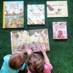 Наши книги - по творчеству, на развитие внимания и обучению счету, книги о добром, книга на ночь и другое) Обзор детских книг