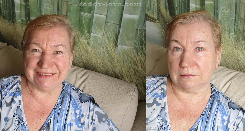 Мама до и после