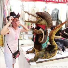 Да-да, крокодилы по улицам ползают)