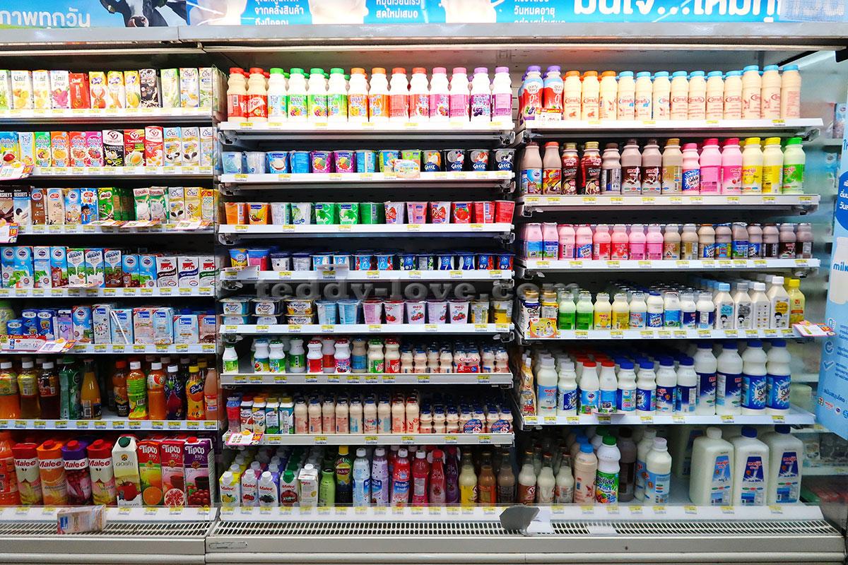 Молоко, йогурты