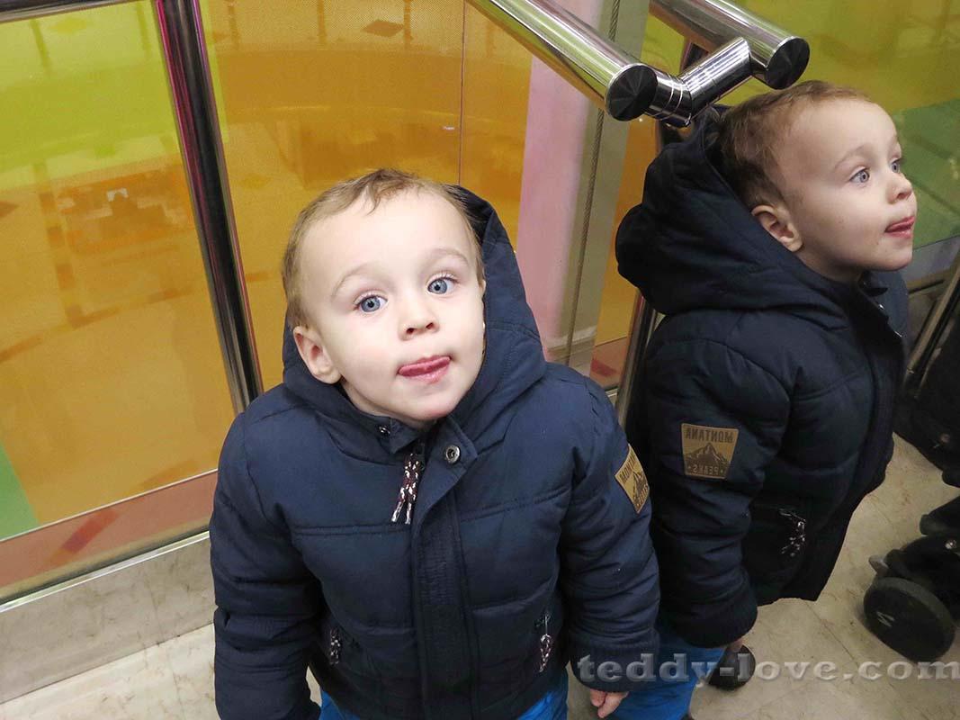 Мама, так надо улыбаться?)))