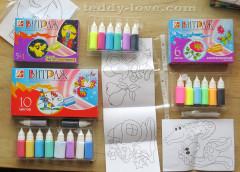 Чем занять ребенка, отзыв о товарах для творчества фабрики луч