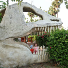 Отдых в Паттайе с детьми, что посмотреть - парк динозавров отзыв