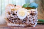 Пирог с печенью в духовке рецепт с фото пошагово
