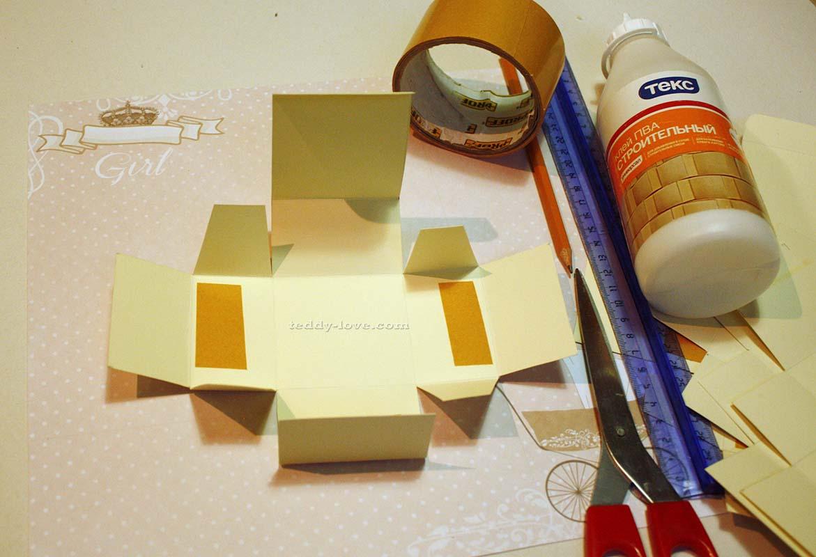 Как самой сделать коробочку фото 763