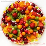 Простой рецепт летнего торта с фруктами и рецепт вкусного крема из сливок без сахара