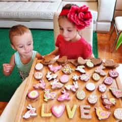 Простой рецепт печенья с фото к Пасхе