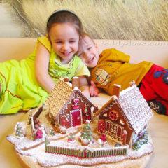рецепт теста для пряничного домика, как сделать пряничный домик своими руками, отзыв о мультипекаре редмонд