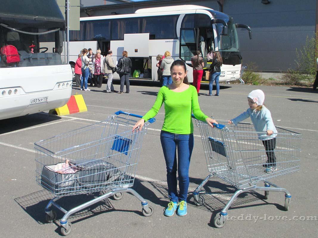 Вместо коляски)))