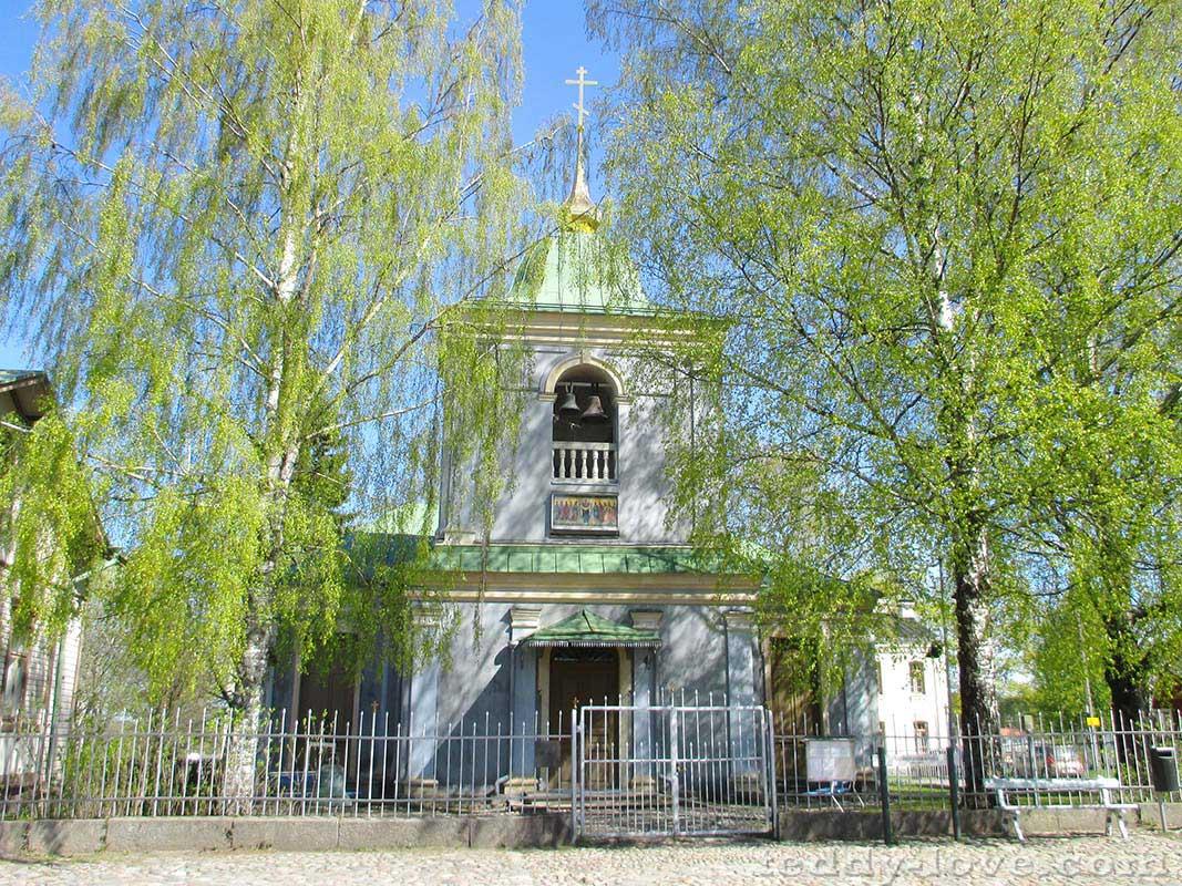 Православная церковь Покрова Пресвятой Богородицы