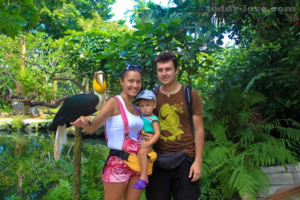 Зоопарк на острове Бали