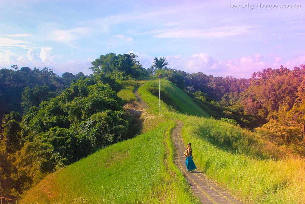 Удивительные пейзажи о. Бали