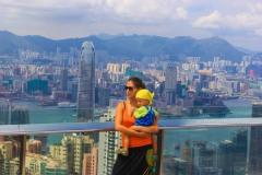 Екатерина в Гонконге