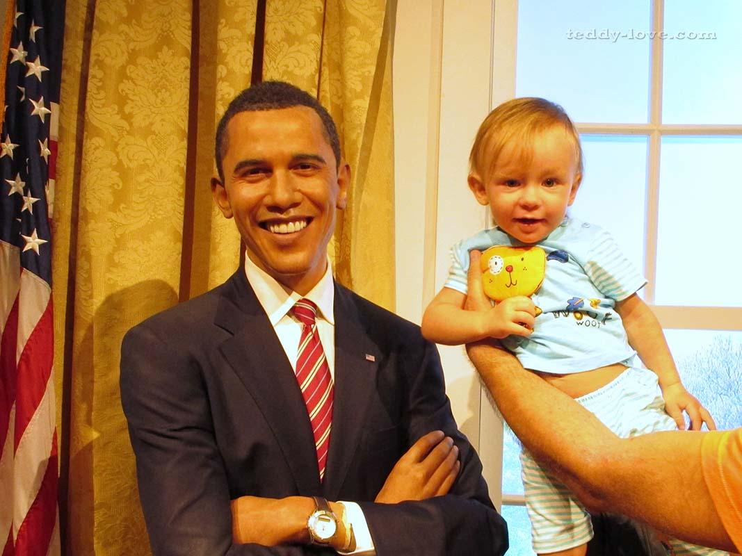 Амелия и Барак Обама)))