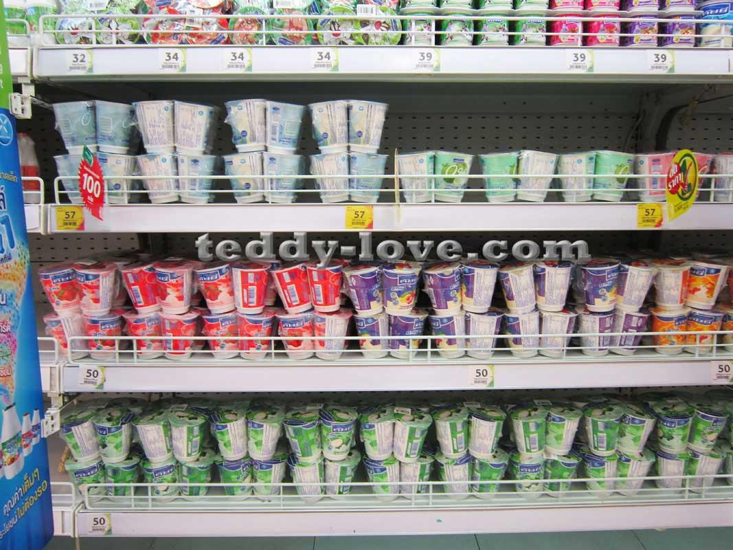 Детское питание в Таиланде. Йогурты
