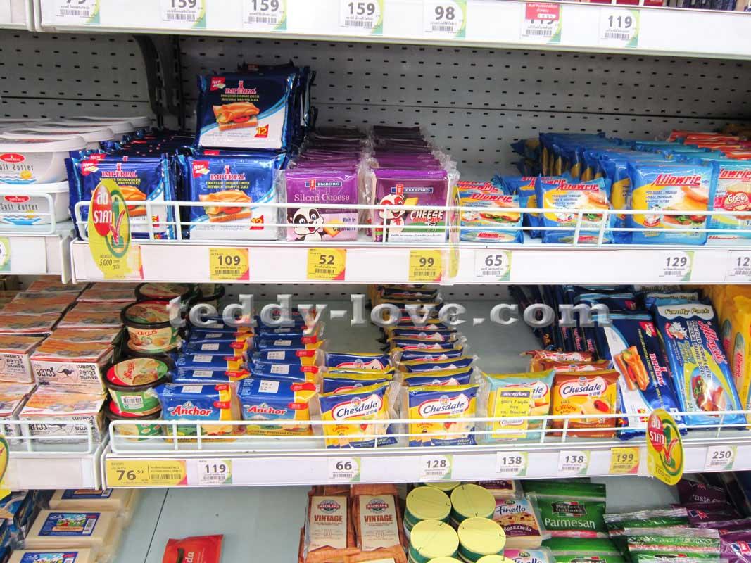 Детское питание в Таиланде. Сыры