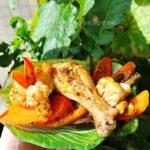 Рецепт курицы с тыквой в духовке по-быстрому!