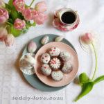 Пошаговый рецепт шоколадных маффинов с черникой
