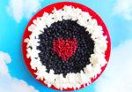 Рецепт тарта - песочный пирог с ягодами и творогом