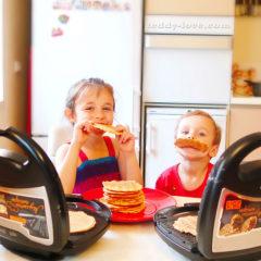 Рецепт тонких вафель для мультипекаря Редмонд минимум масла
