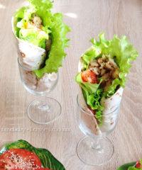 Рецепт тортильи с рыбой простой с фото