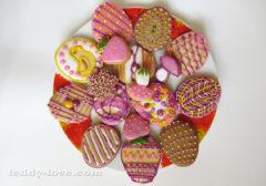 Рецепт печенья под раскраску глазурью, простой рецепт печенья для детей, как сделать печенье для детей