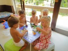 зимовка в Таиланд с маленькими детьми, Русский детский сад на Самуи