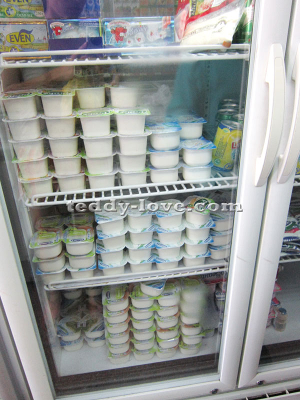Натуральные йогурты