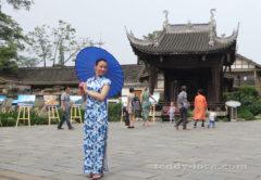 Я гуляю по Китаю)))
