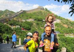 Великая китайская стена с детьми. Достопримечательности китай, куда поехать в китае, путешествие в китай с детьми