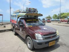 Тук-тук на острове Самуи, как передвигаться в Таиланде, как передвигаться по острову Самуи