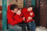 новогодняя семейная фотосессия в стиле фэмили лук!