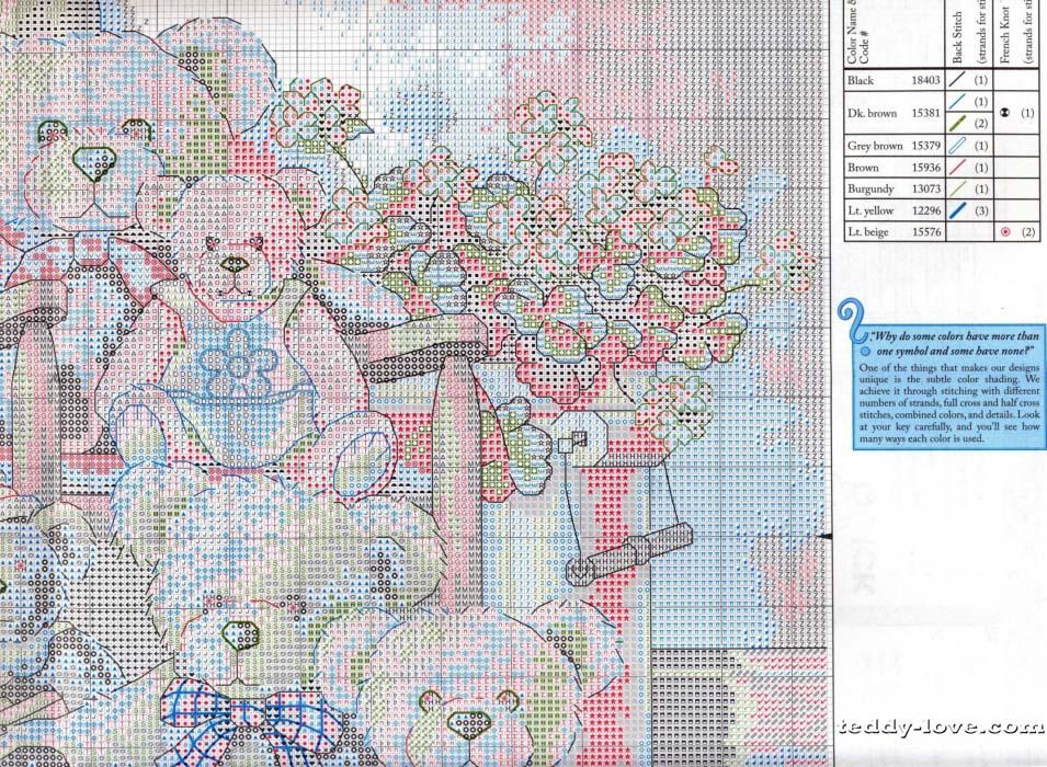 Схемы вышивки крестом бесплатно-dimensions 50
