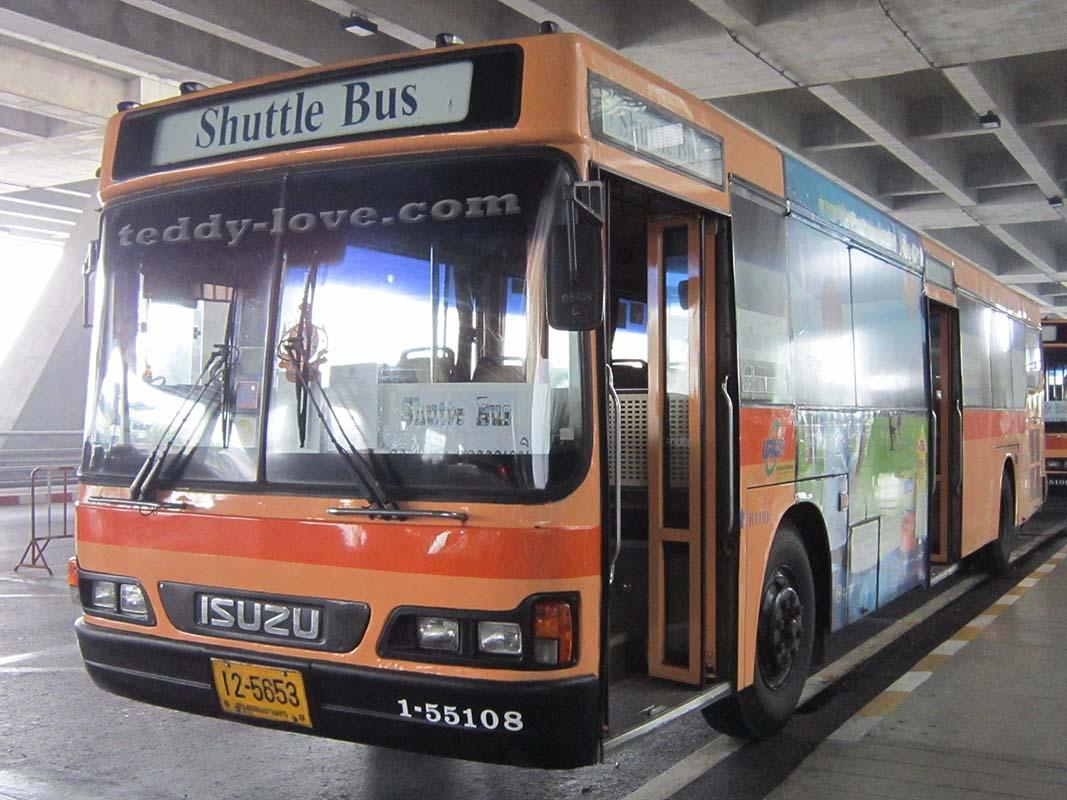 Шатл - бесплатный автобус между аэропортами