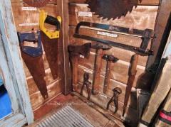 Столярный домик с настоящими инструментами!!!