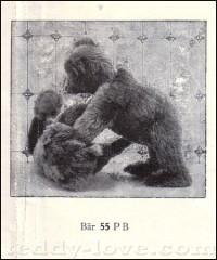 Первый Медведь Тедди 55PB фирмы Steiff