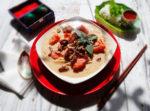 Суп Том Ям с кокосовым молоком рецепт с фото