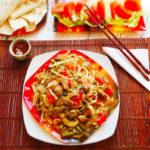 Свинина с лапшой по-китайски рецепт с фото