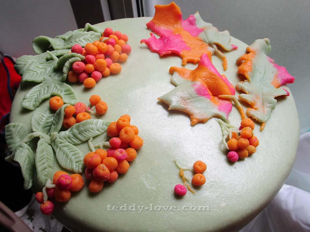 Как украсить торт мастикой в домашних условиях пошагово