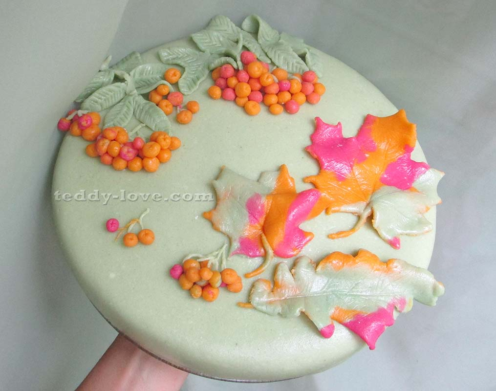 Как украсить детский торт в домашних условиях пошагово 6