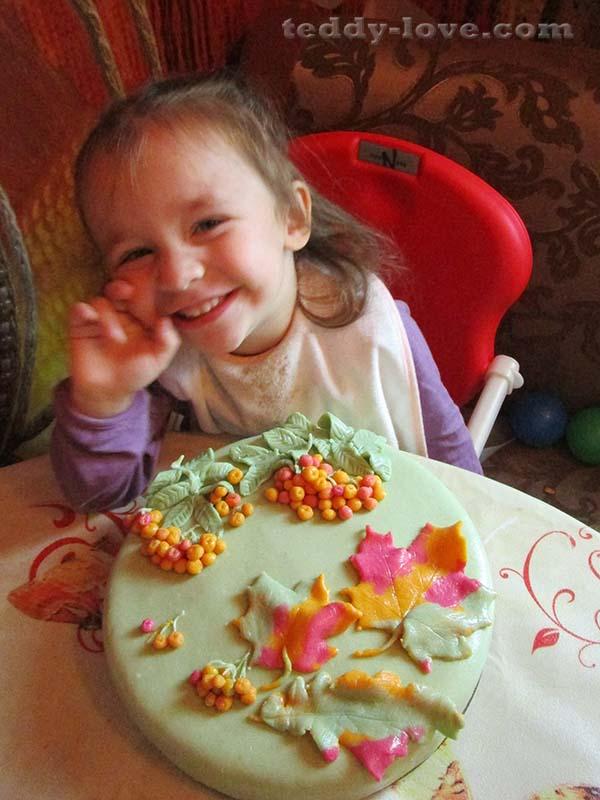 торт из мастики пошаговый рецепт