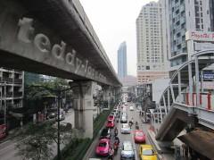 метро в Бангкоке.
