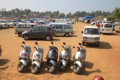 Как передвигаться на Гоа, аренда транспорта на Гоа, прокат байков и велосипедов на Гоа. Такси и другие средства передвижения по Гоа, дешевый общественный транспорт.