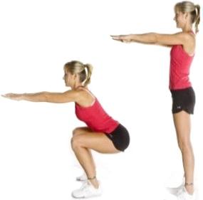 как похудеть между ног в ляшках